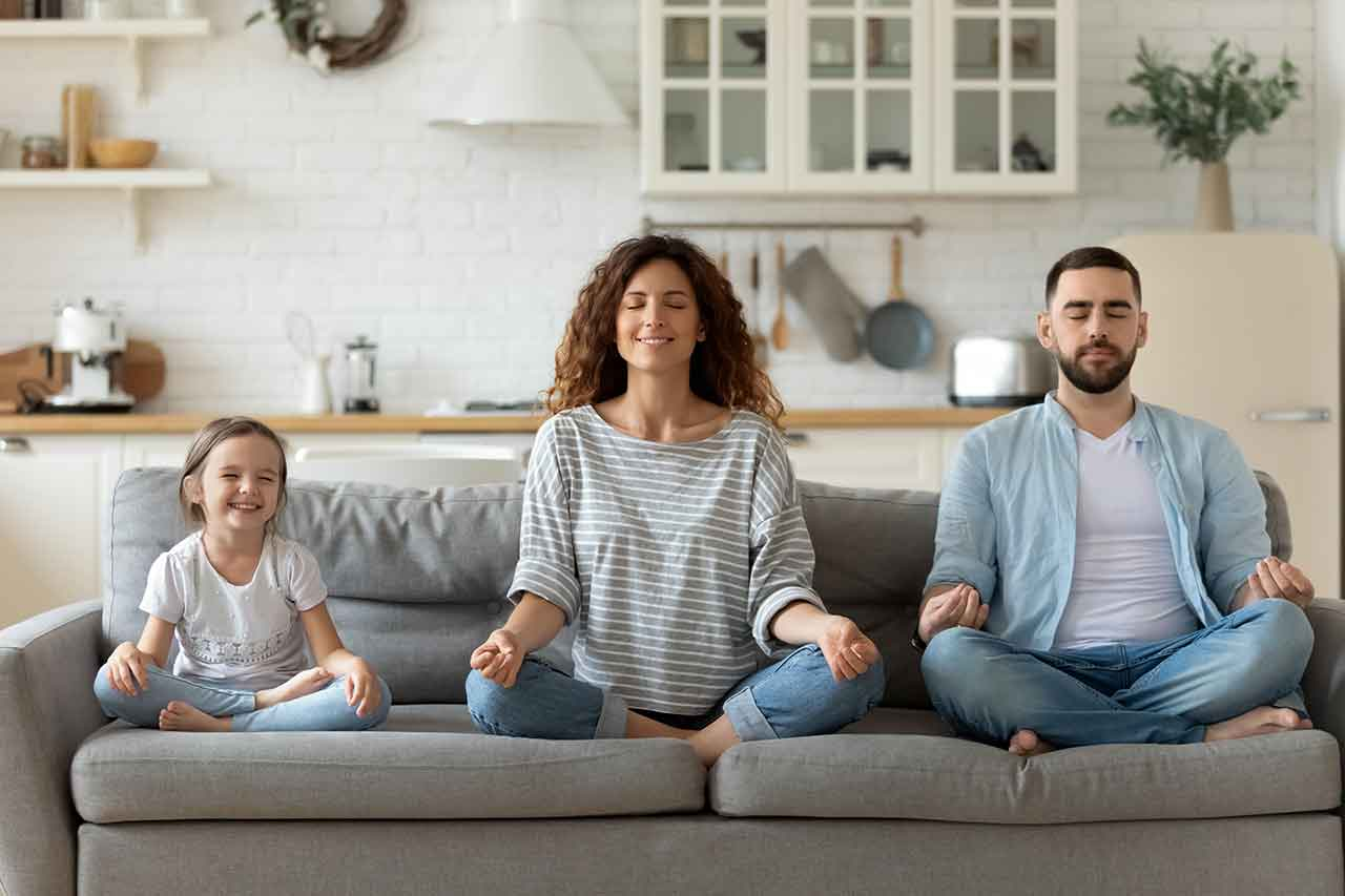 The poaitive effects of meditation on your family