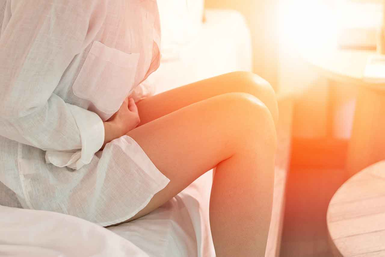 Suffering with endometriosis